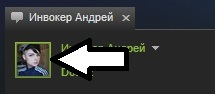 Click on a user's profile picture from the chat window to get to their Steam profile